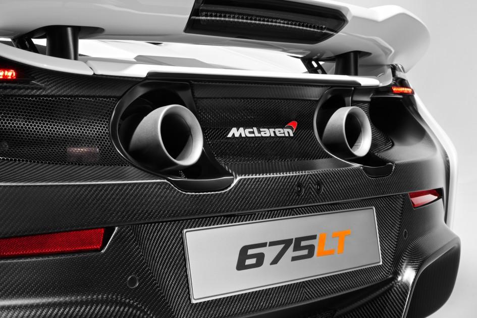 McLaren 675LT - arrière