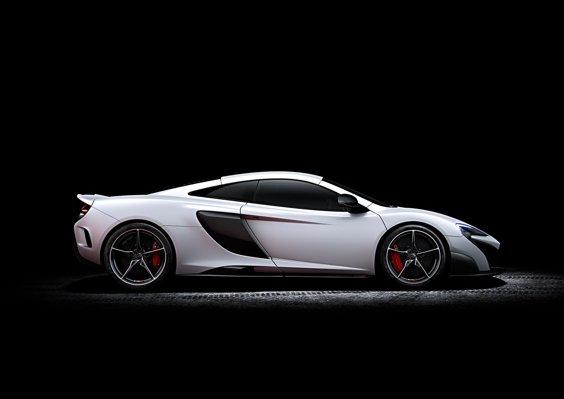 McLaren 675LT - profil
