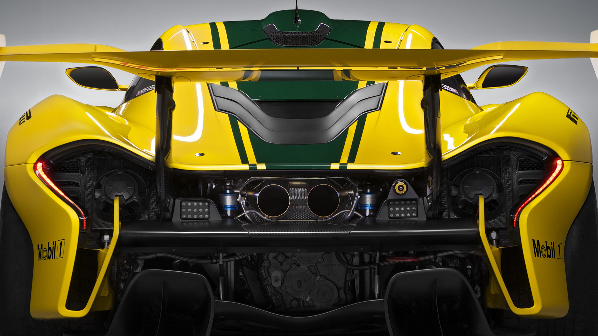 McLaren P1 GTR - 2015 - arrière