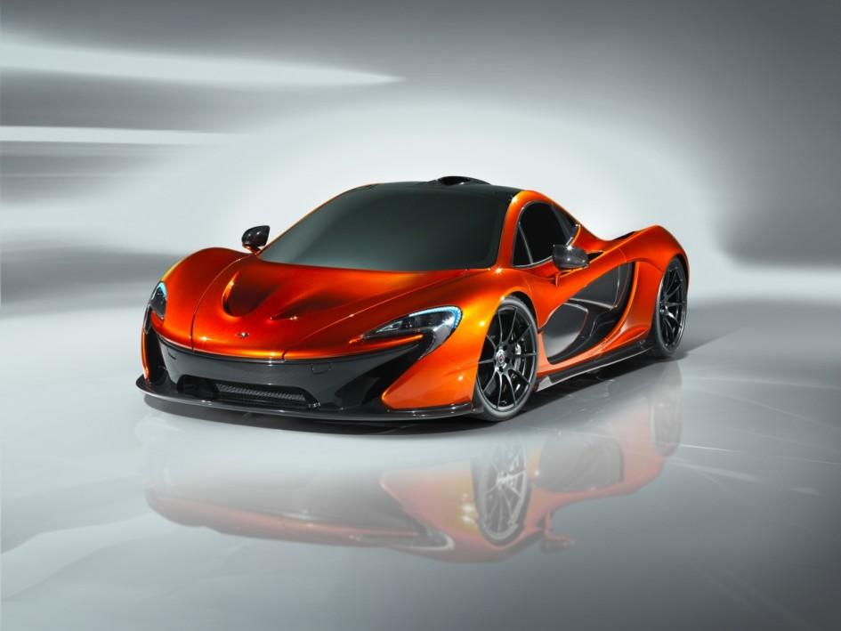 McLaren P1 face avant