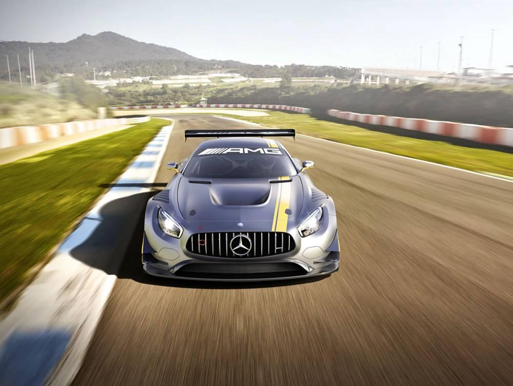 Mercedes-AMG GT3 - avant