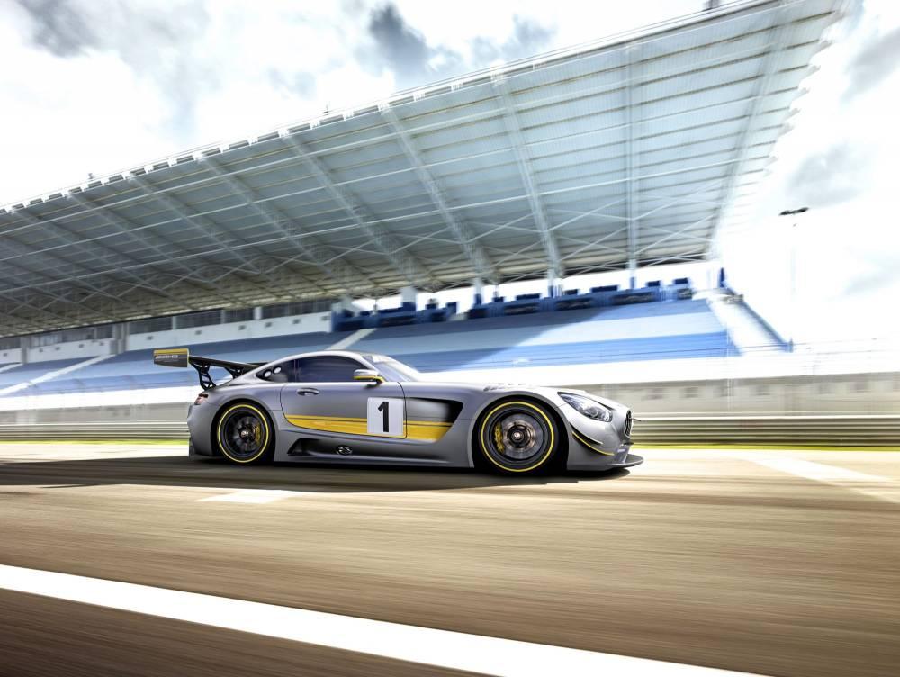 Mercedes-AMG GT3 - profil