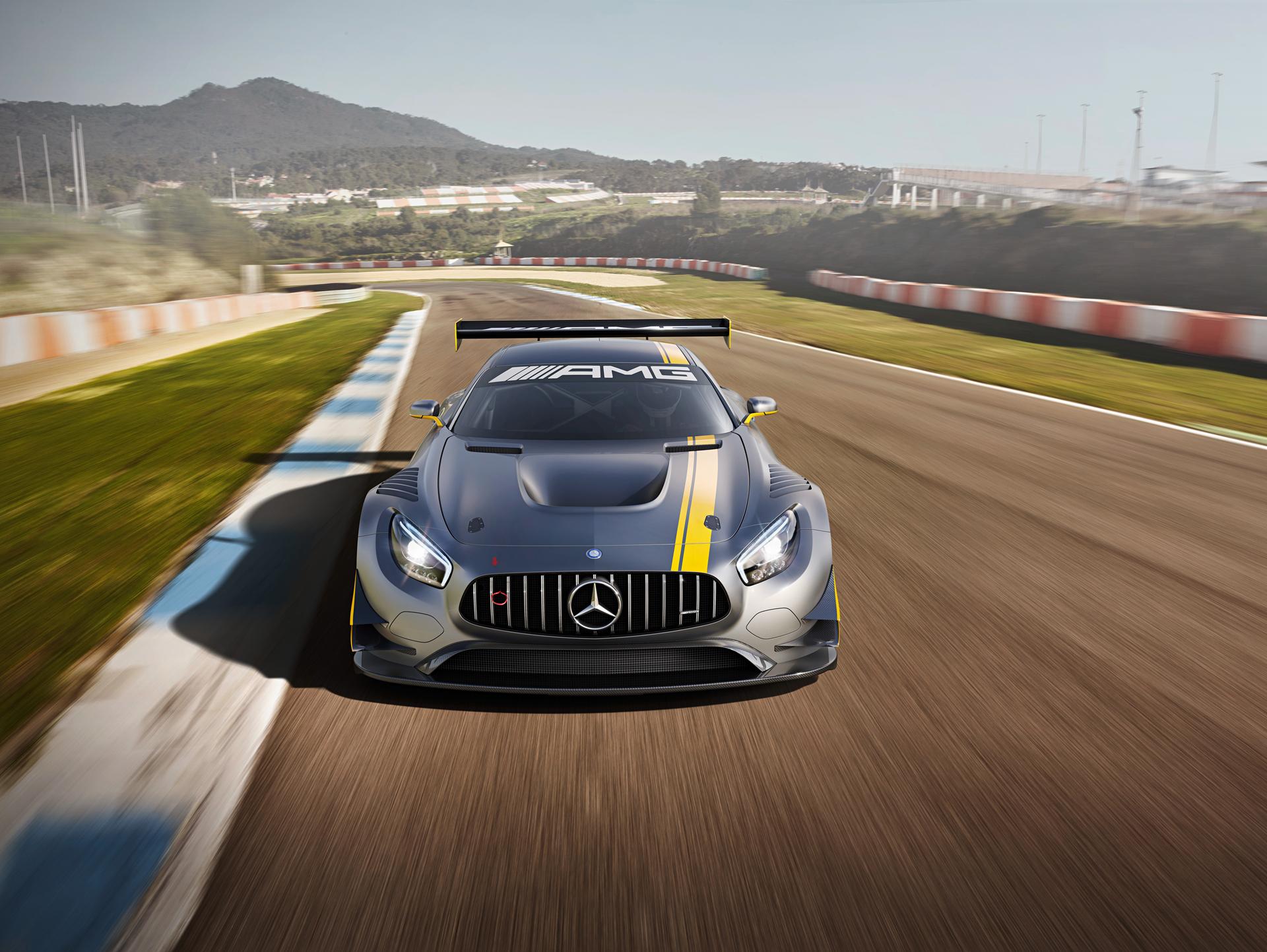 Mercedes-AMG GT3 - face avant