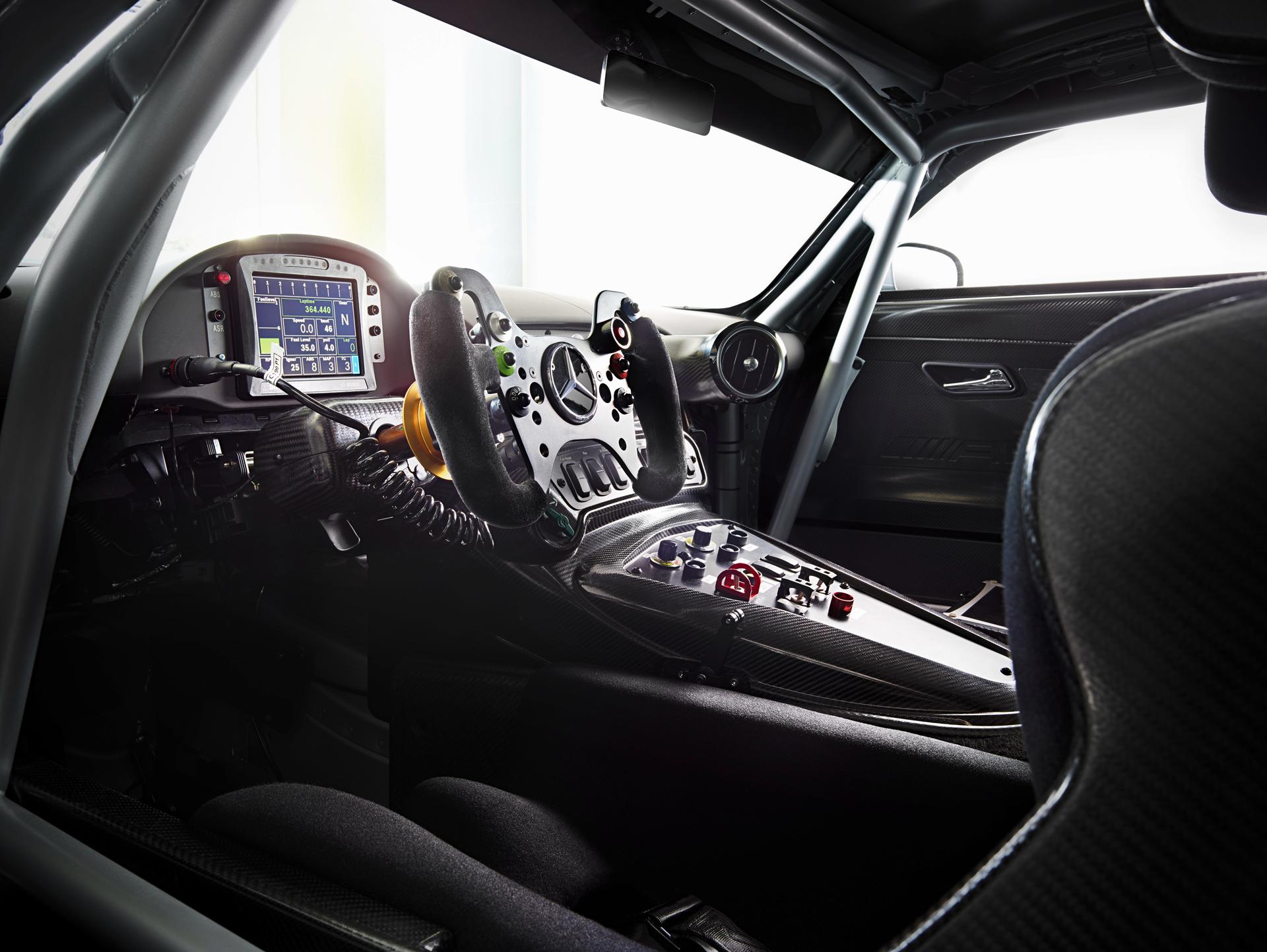 Mercedes-AMG GT3 - intérieur