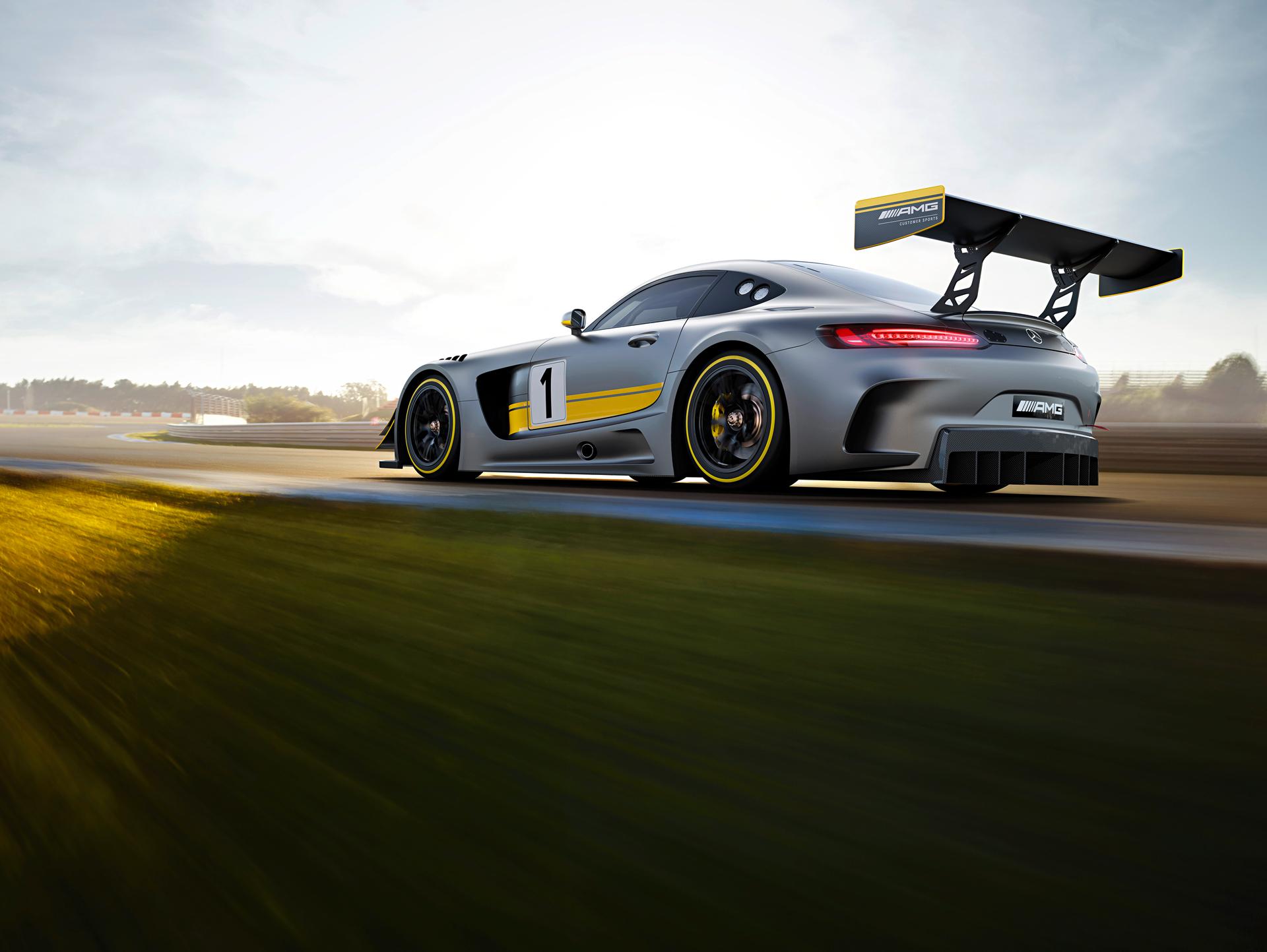 Mercedes-AMG GT3 - profil arrière