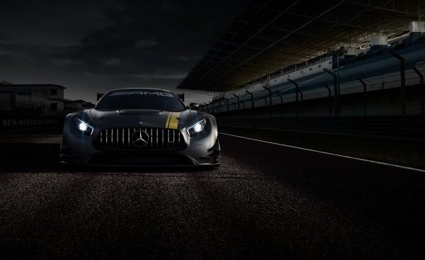 Mercedes-AMG GT3 - teaser - face avant