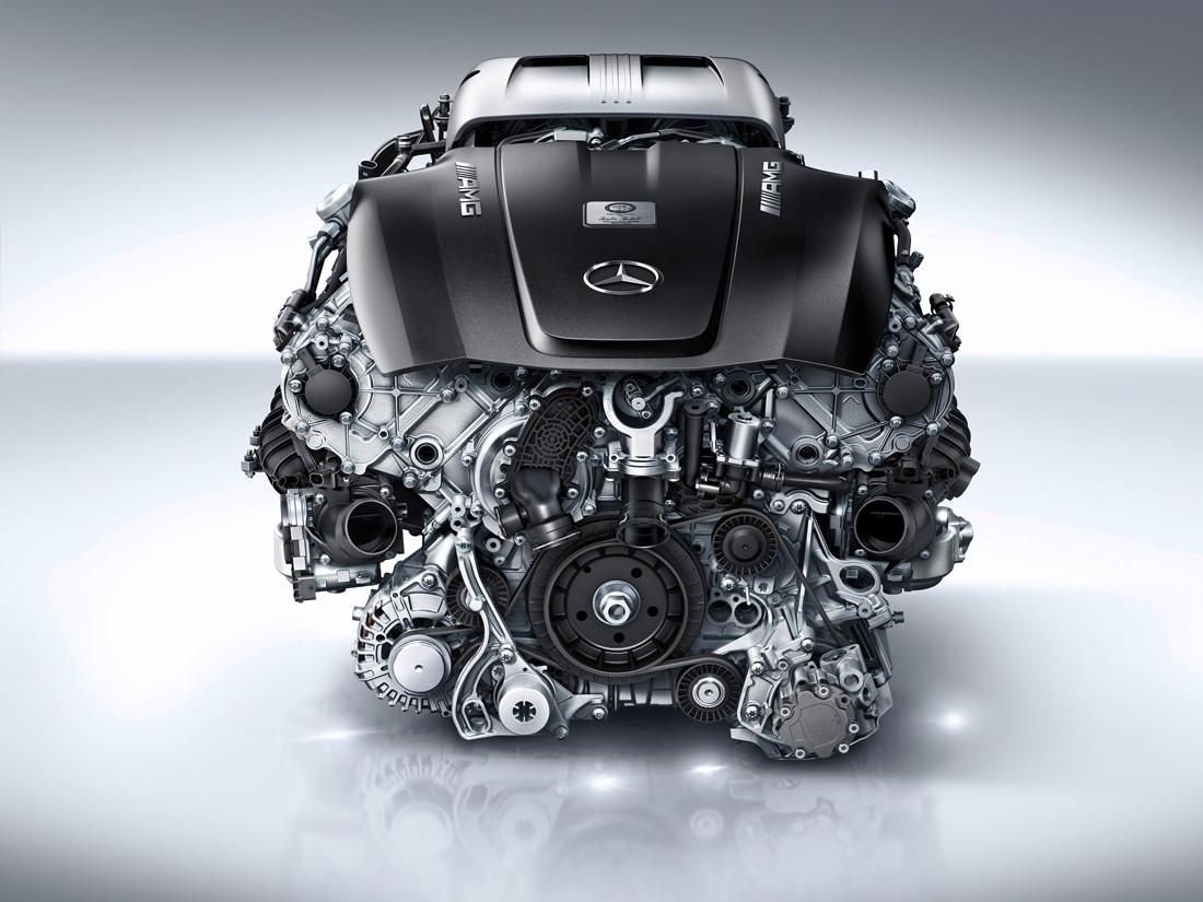 Moteur V8 4.0 litres biturbo - M178 - Mercedes-Benz AMG