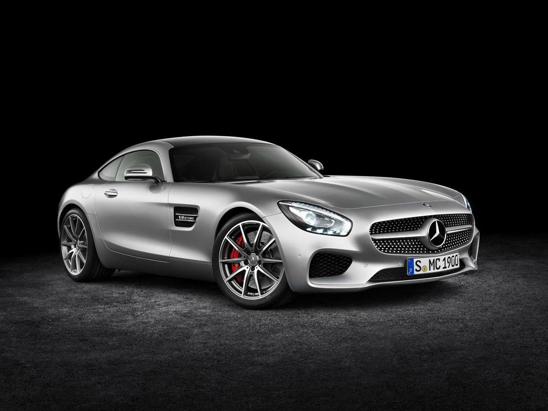 Mercedes-AMG GT - Devant