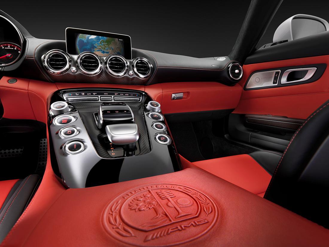 Mercedes-AMG GT - Intérieur