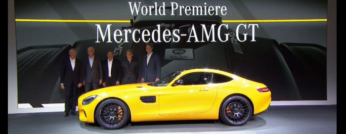 Mercedes-AMG GT - 2014 World Premiere