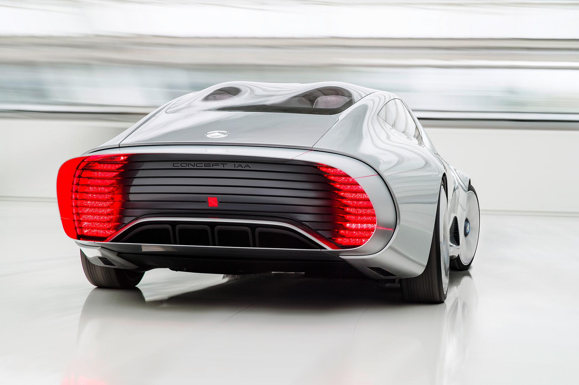 Mercedes-Benz Concept IAA - rear / arrière