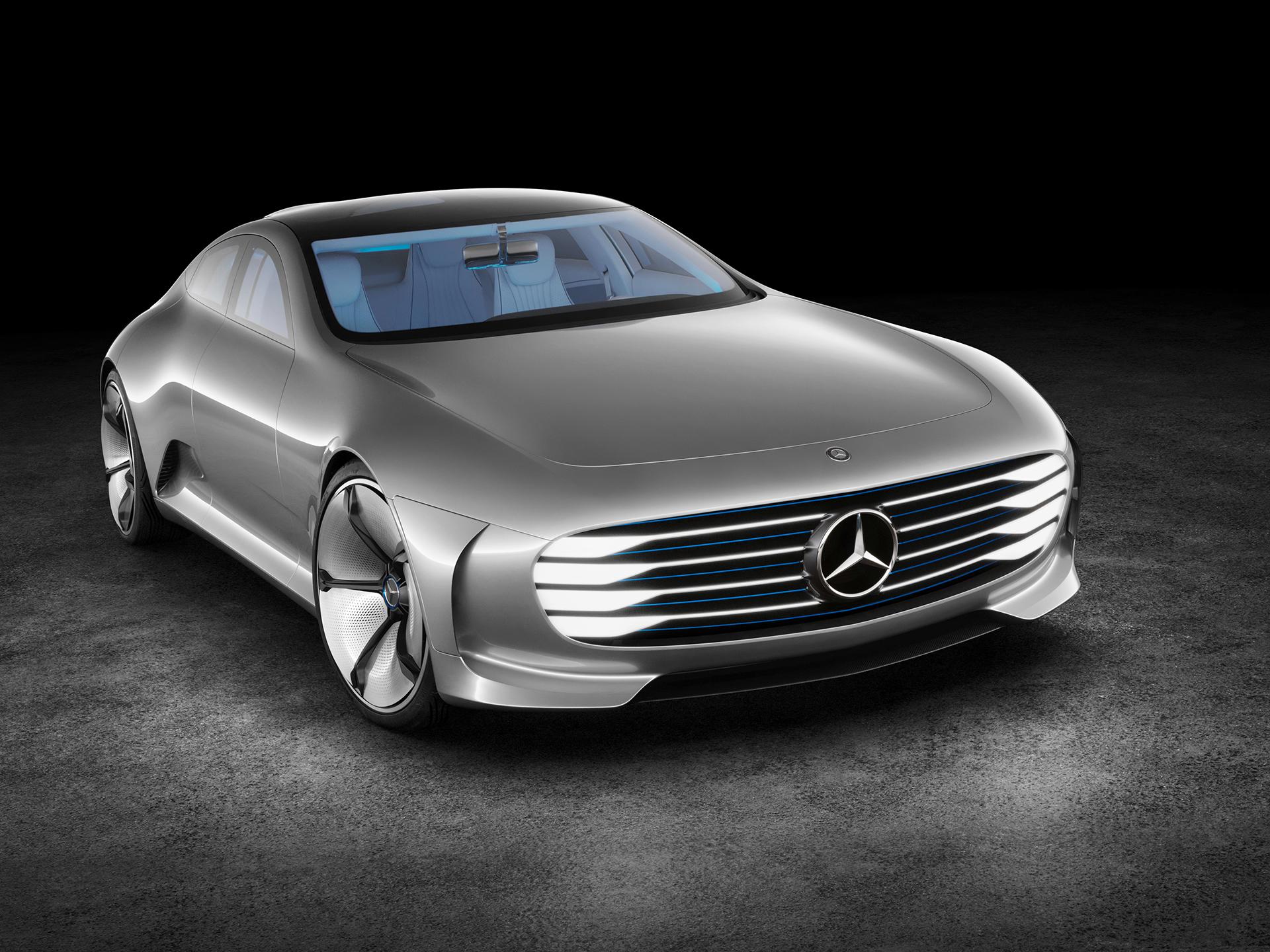 Mercedes-Benz Concept IAA - front / face