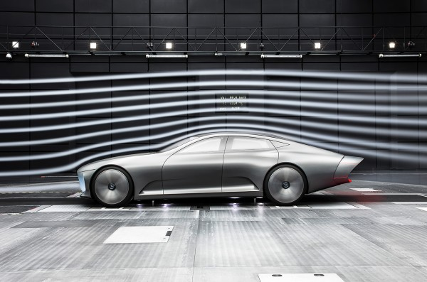 Mercedes-Benz Concept IAA - side-face / profil - Cx 0,19