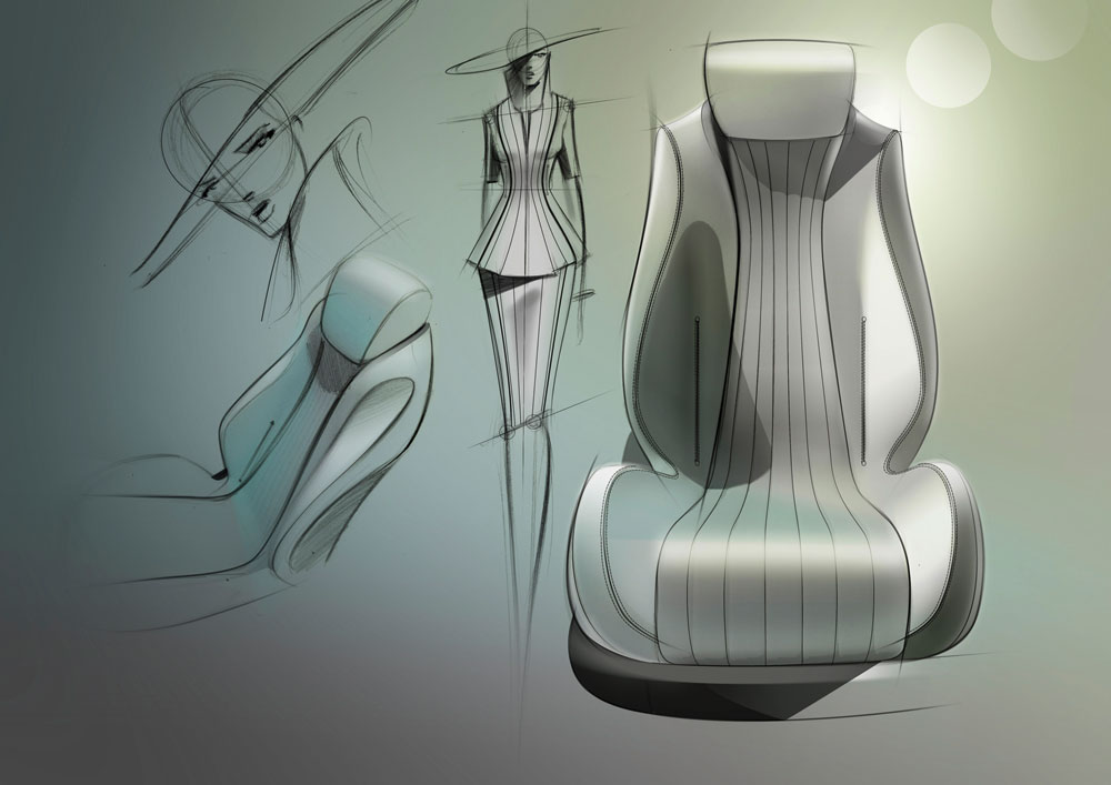 Fashion Design Mercedes-Benz Concept S-Class Coupé