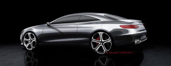 Dessin Mercedes-Benz Concept S-Class Coupé