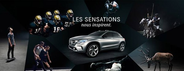 Mercedes GLA Sensations