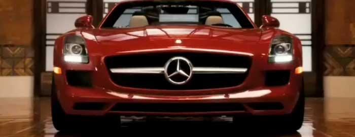 Mercedes-Benz SLS Noël