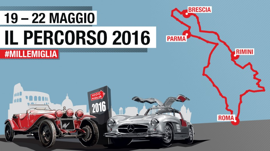 Mille Miglia 2016 - cover