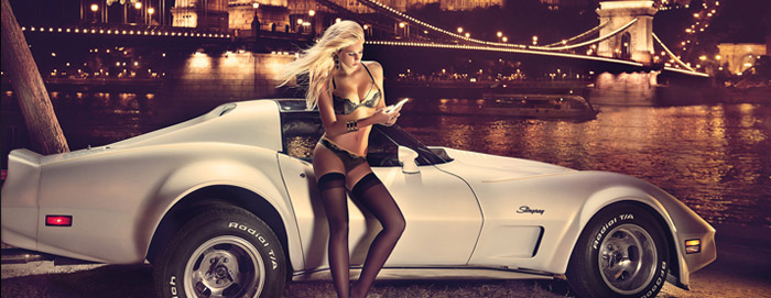 Miss Tuning 2014 Corvette C2 Stingray