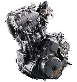 Moteur DOHC - KTM