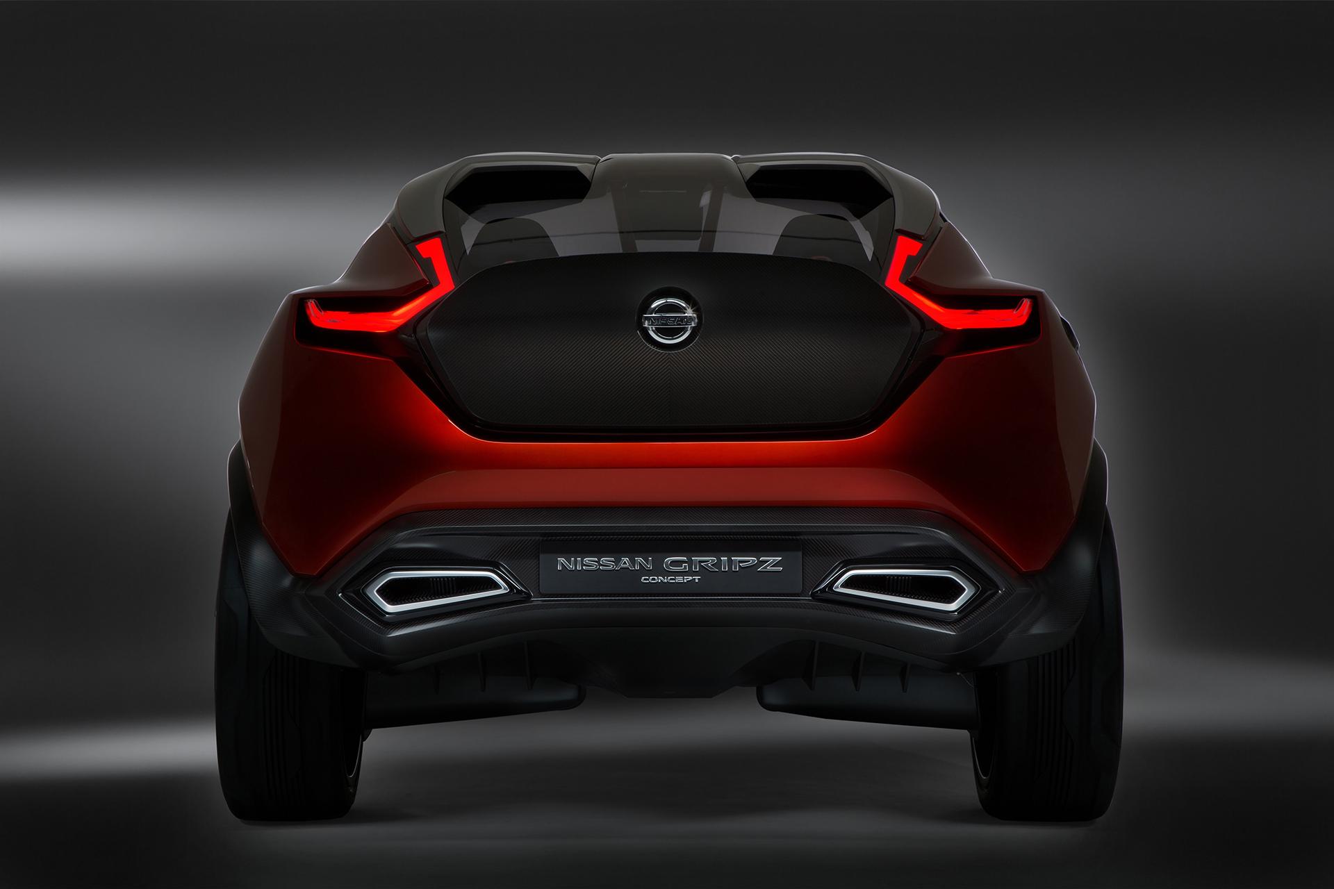 Nissan Gripz Concept - rear / arrière