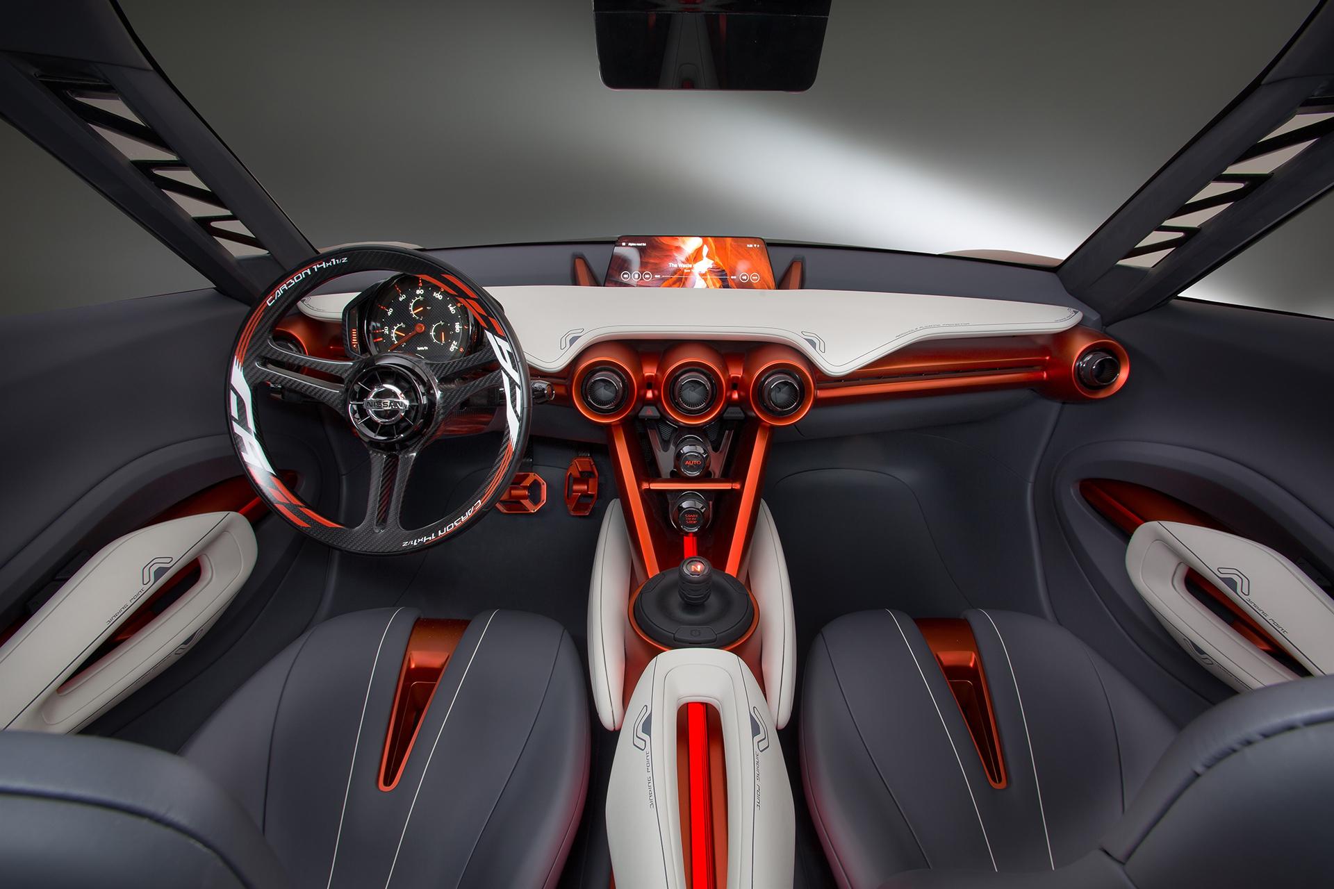 Nissan Gripz Concept - interior / intérieur