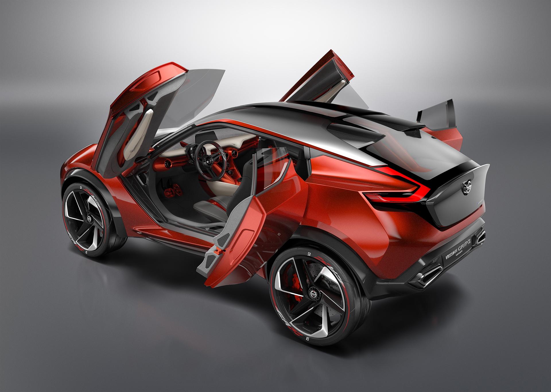 Nissan Gripz Concept - open doors / portes ouvertes