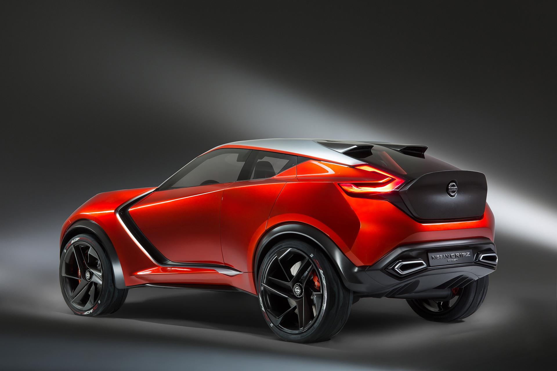 Nissan Gripz Concept - rear side-face / profil arrière