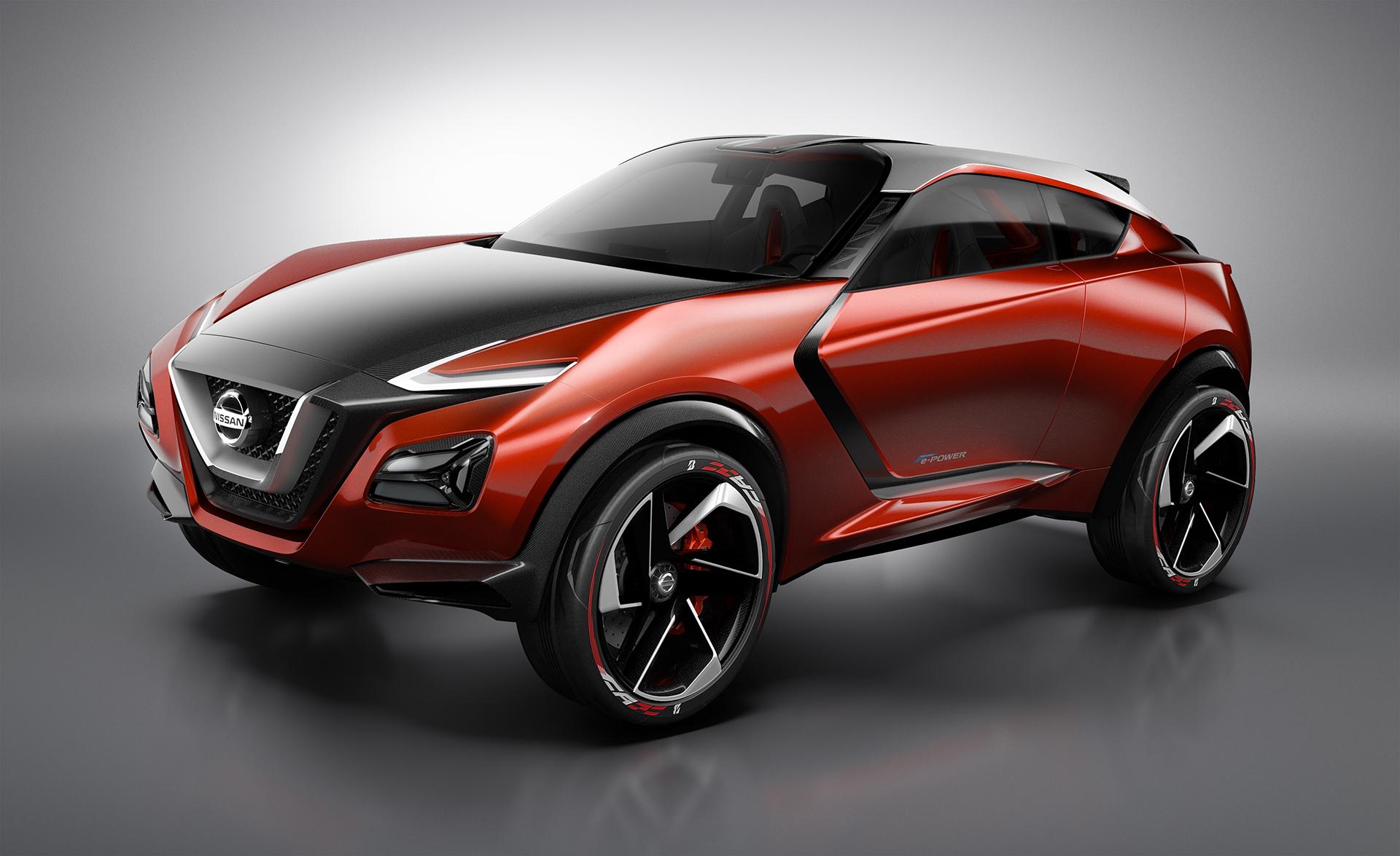 Nissan Gripz Concept - front side-face / profil avant