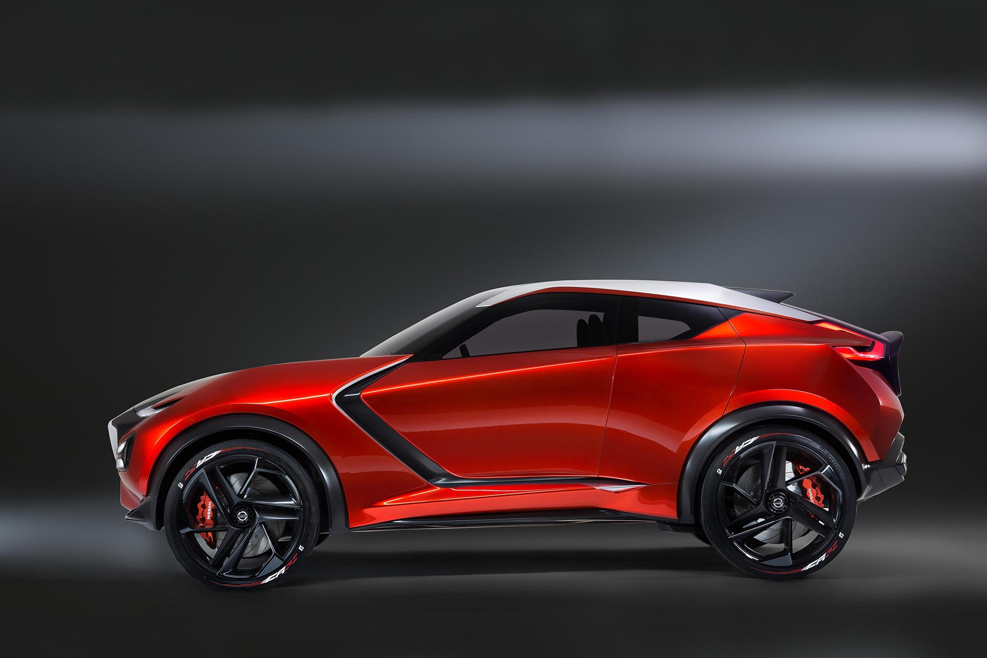 Nissan Gripz Concept - side-face / profil