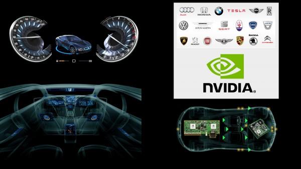 Nvidia drive - partenaires - constructeurs automobiles