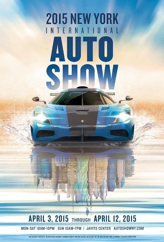 2015 New York International Automobile Show Poster Art