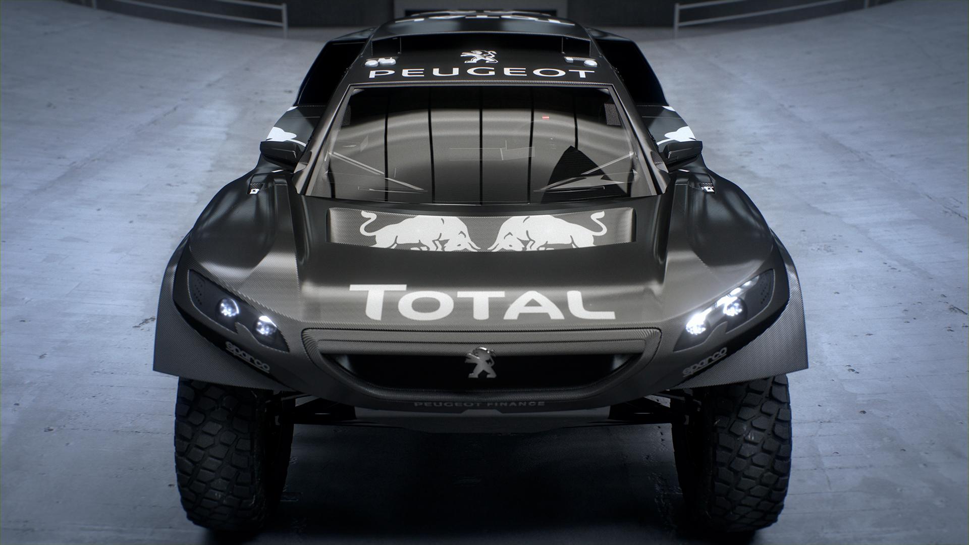 Peugeot 2008 DKR16 - front / avant