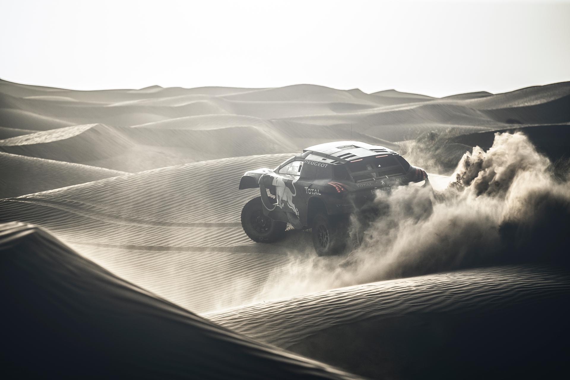 Peugeot 2008 DKR16 - désert