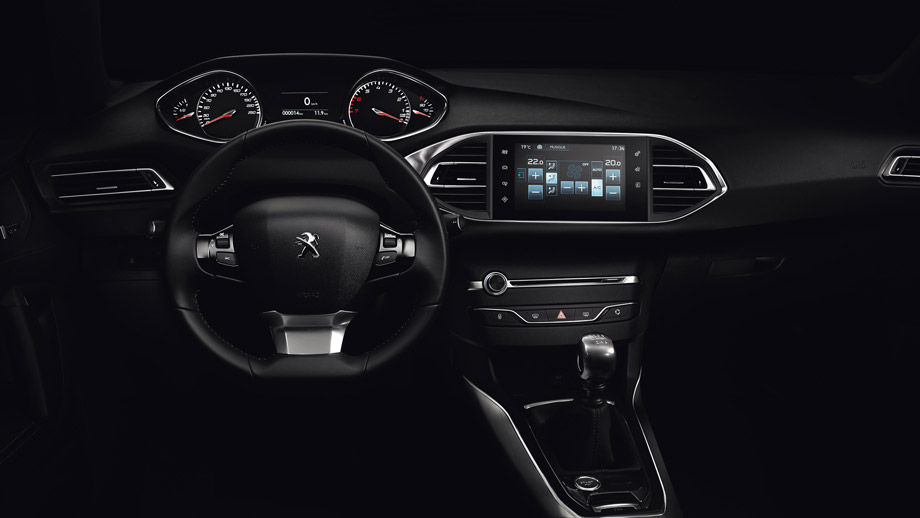 La nouvelle peugeot 308 sert le design automobile la 308 for Peugeot 308 r interieur