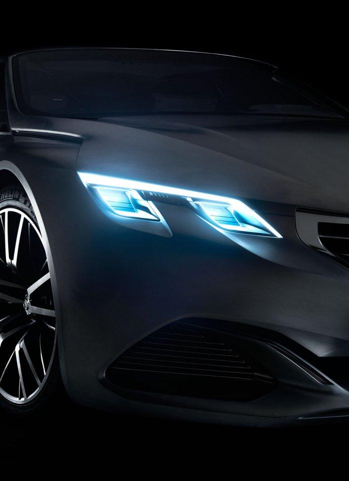 Feux avant - Peugeot Exalt Concept