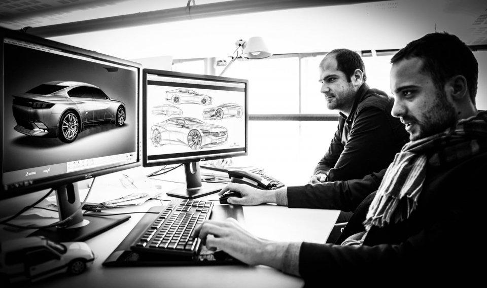 Infographistes Peugeot Exalt Concept