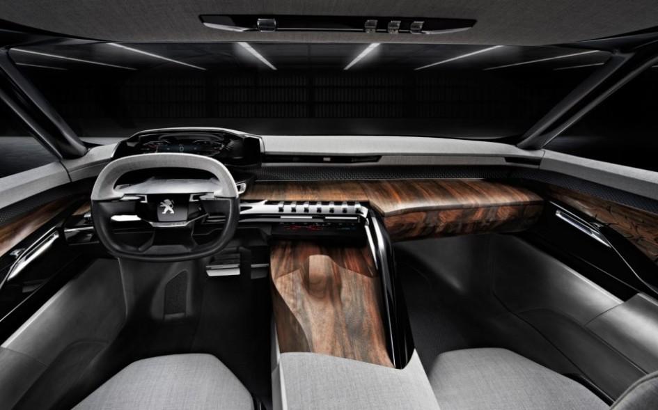 Intérieur - Peugeot Exalt Concept