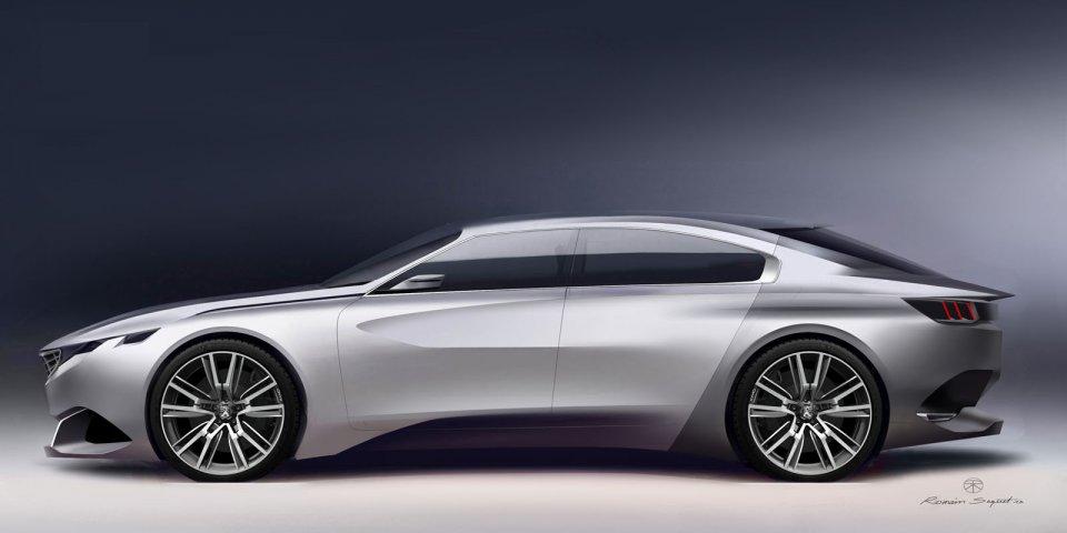 Prototype - Peugeot Exalt Concept