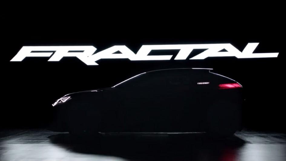 Peugeot Fractal - 2015 - teaser