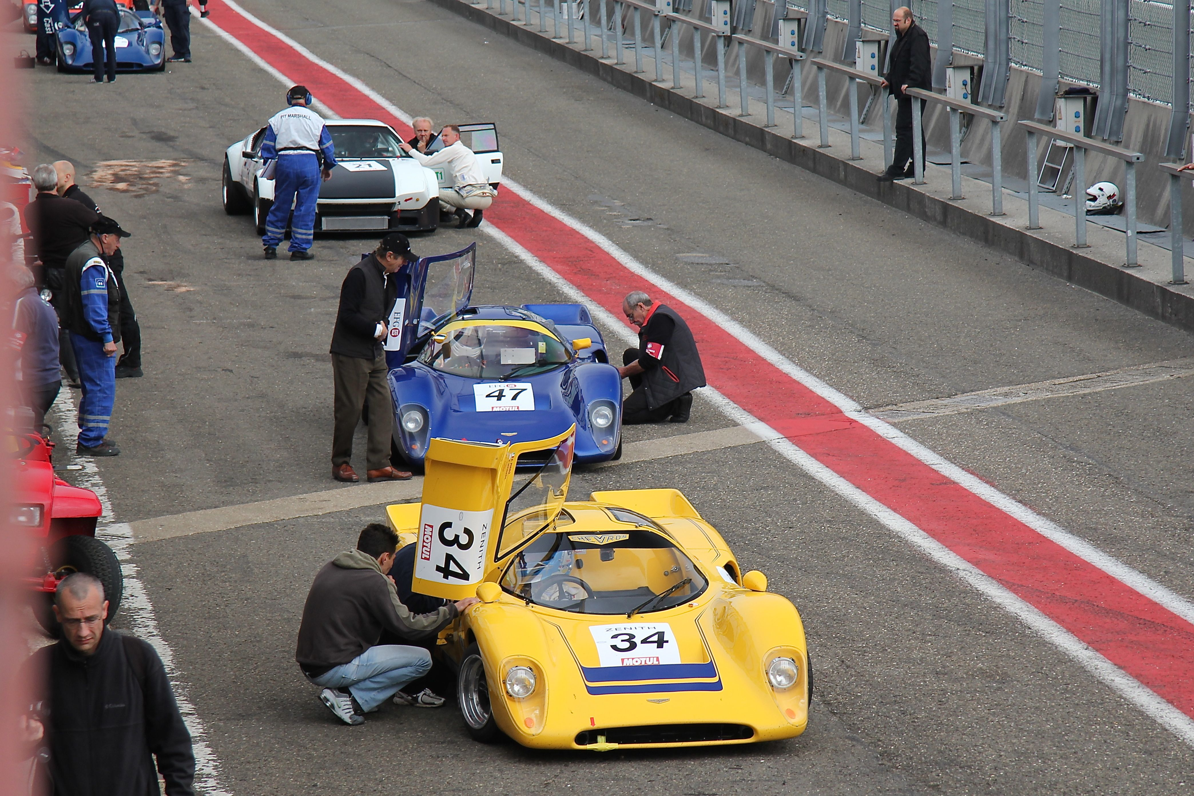 pit stop - Spa-Classic 2015 - Photographie Ludo