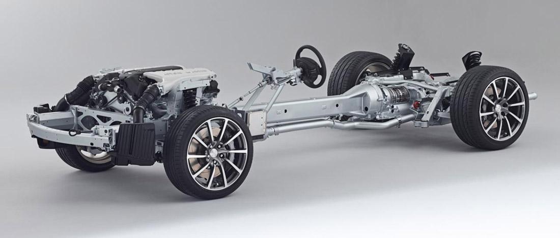 Aston Martin - plateforme VH