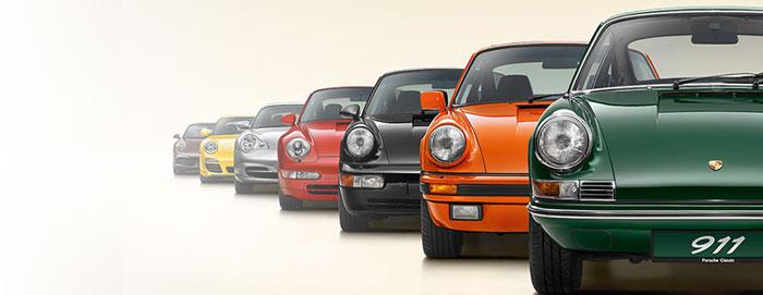 Porsche 911 50 ans 1963