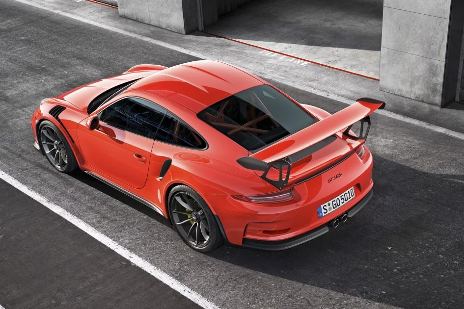 Porsche 911 GT3 RS - toit