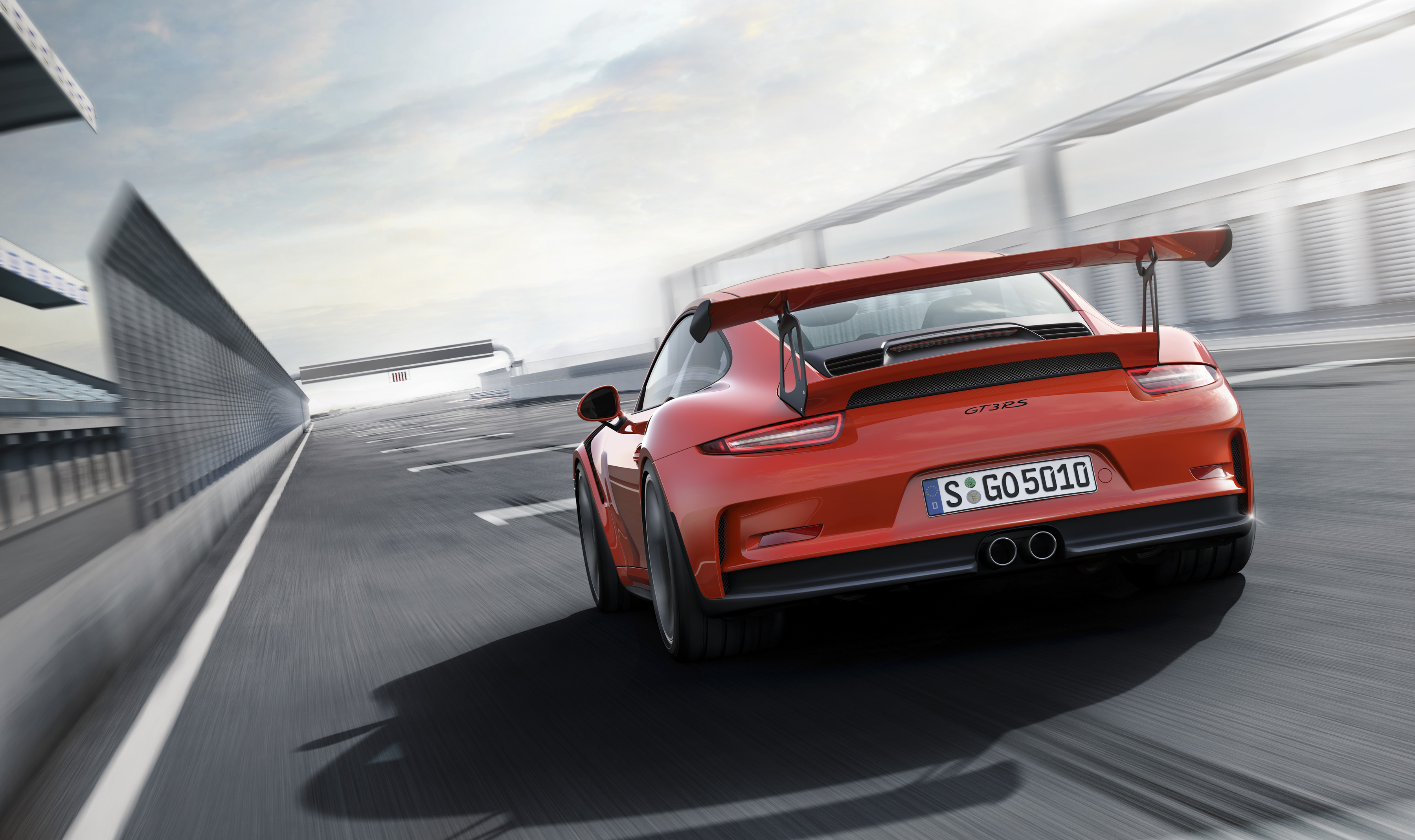Porsche 911 GT3 RS - face arrière
