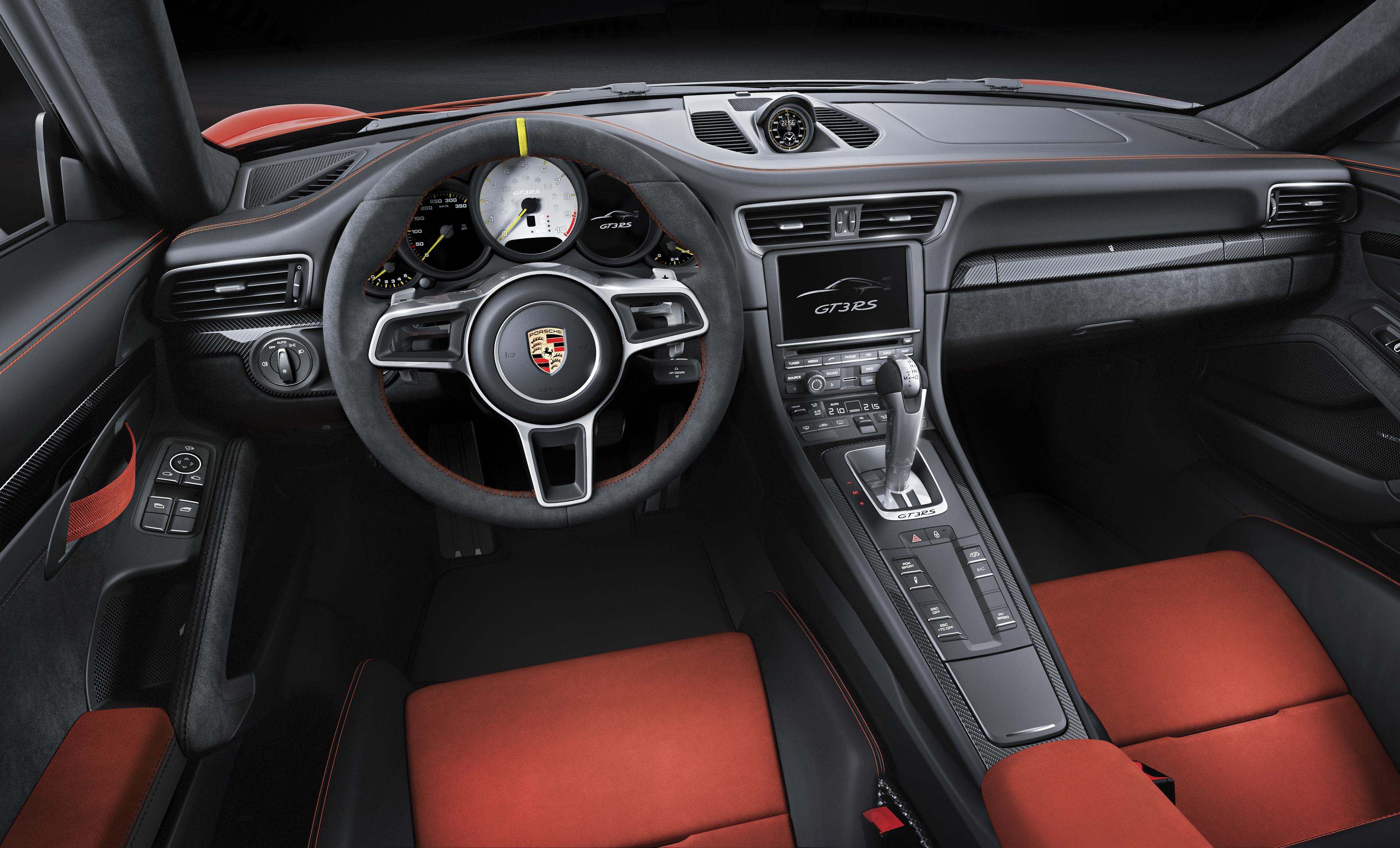 Porsche 911 GT3 RS - intérieur volant