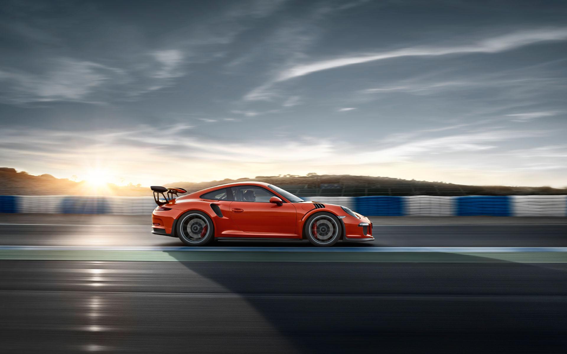 Porsche 911 GT3 RS - profil