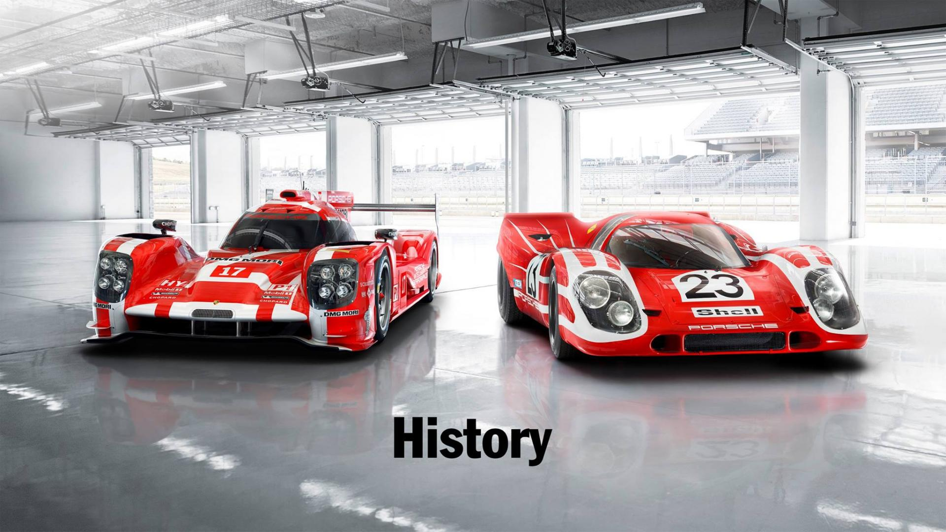 Porsche 919 hybrid - Porsche 917 - History