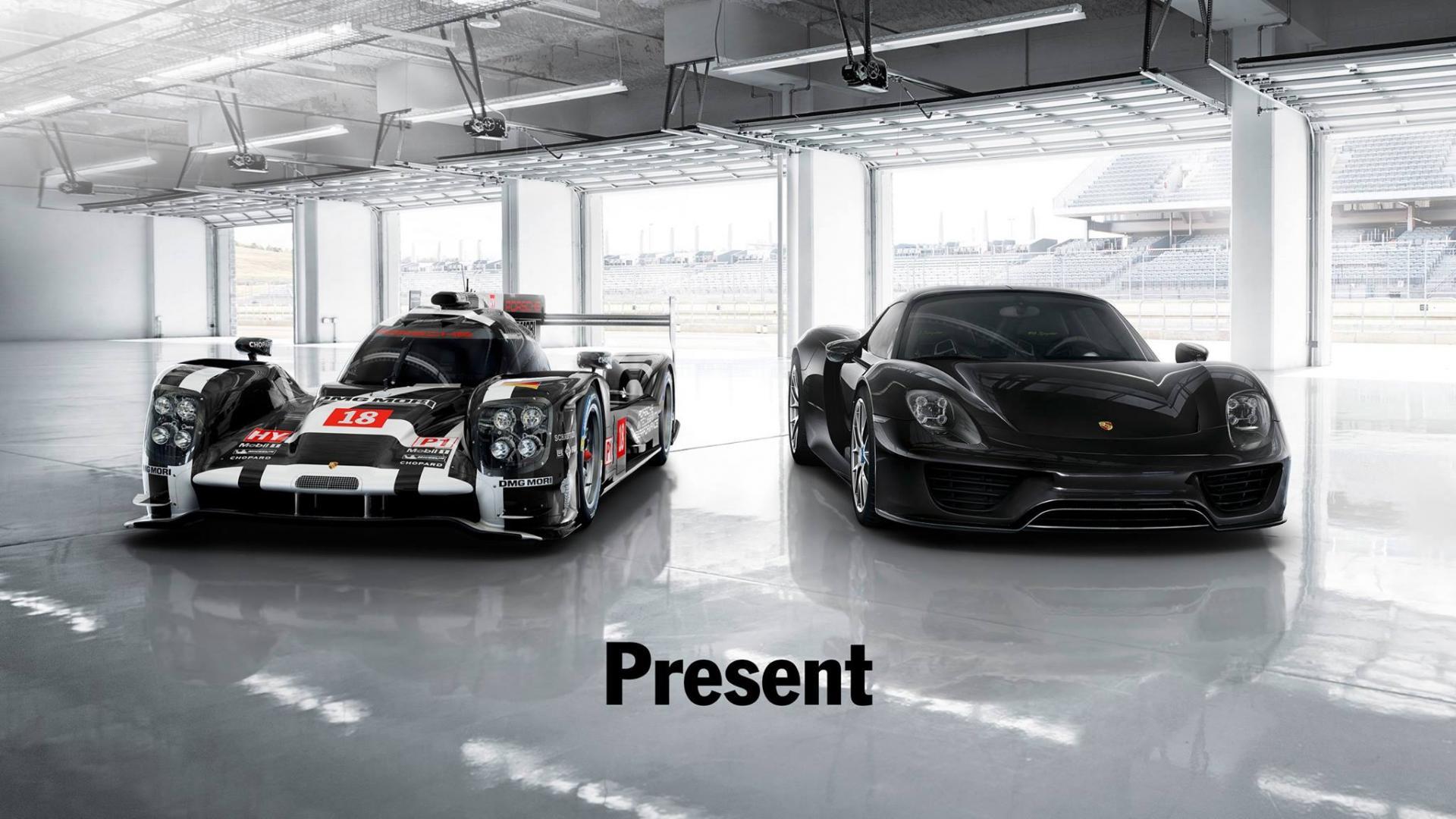 Porsche 919 hybrid - Porsche 918 Spyder - Present