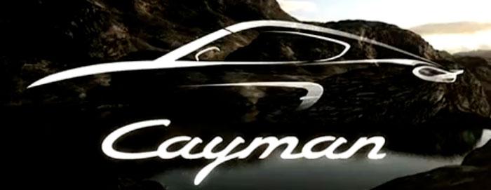 Porsche Cayman Press
